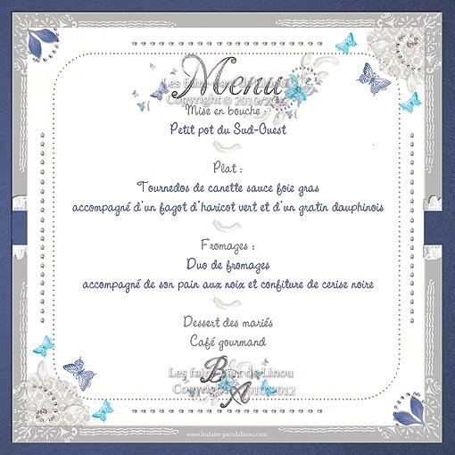 Menus Archives Les Faire Part De Linou