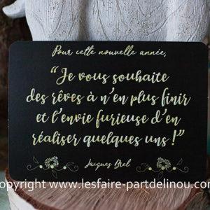 Citation Voeux Jacques Brel Archives Les Faire Part De Linou